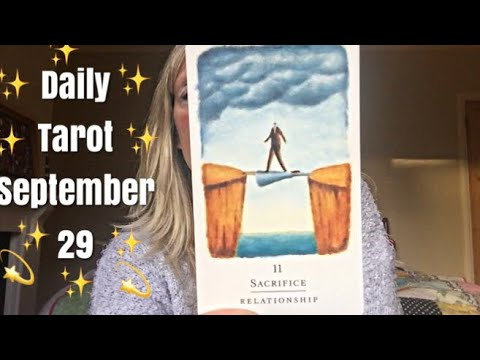 Daily tarot reading for 29 September 2017 🙏✨ Be the human bridge...  🙏✨