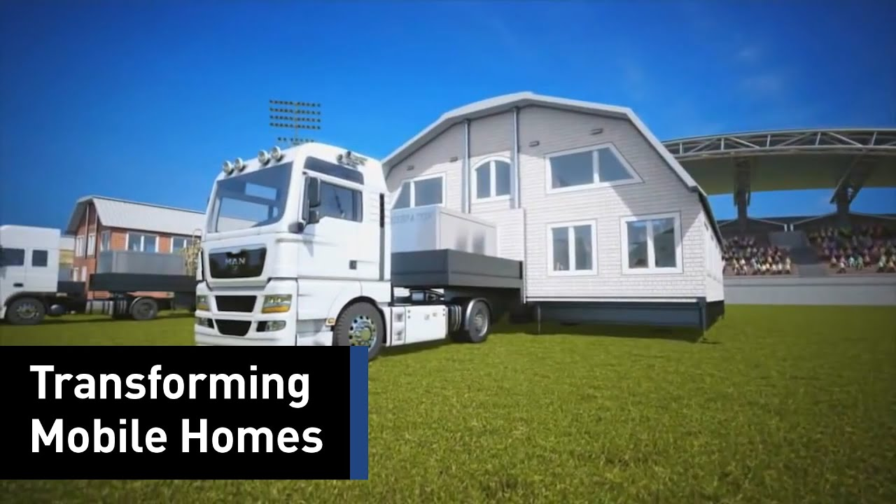 This Mobile Home Can Transform Into A Luxury House - YouTube on trailer life, prefabricated buildings, photoshop house, foldable house, human doll house, american craftsman, travel trailer, stone ender, prairie school, prefabricated home, kimberly's house, living in house, new bern house, corinth house, gaming house, tumbleweed tiny house company, digital life house, molokai house, southern german house, movable house, temporary house, trailer house, recreational vehicle, instant house, teardrop trailer, new river house, kit houses in the united states, mobil house, online house, secure house, bismarck house, pop up campers, mobile office,