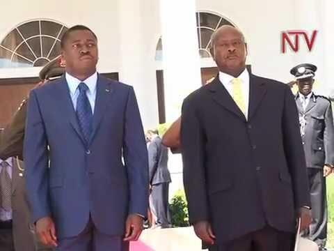 Togo President visits Uganda