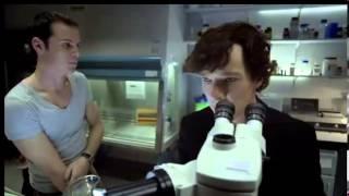 Sherlock/Moriarty первая встреча