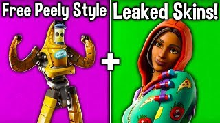 ALL v 10.30 SKINS vazou! ESTILO PEELY GRÁTIS! Novas skins, Backblings + mais! (Battle Royale do Fortnite)