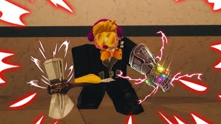 HOLDING THE INFINITY GAUNTLET IN ROBLOX!!! (ROBLOX egg hunt 2019)