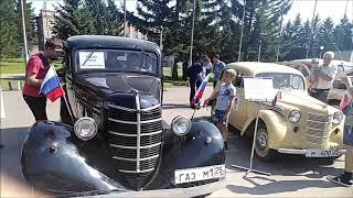 Автопробег раритетных автомобилей (80 лет Примороавтотранс)