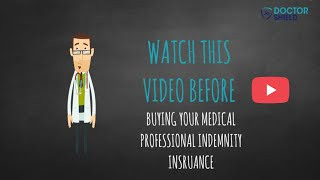 Watch this video before buying medical professional indemnity insurance