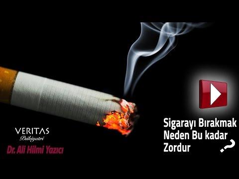 Sigara Bırakmak Neden Bu Kadar Zordur ? Dr. Ali Hilmi YAZICI