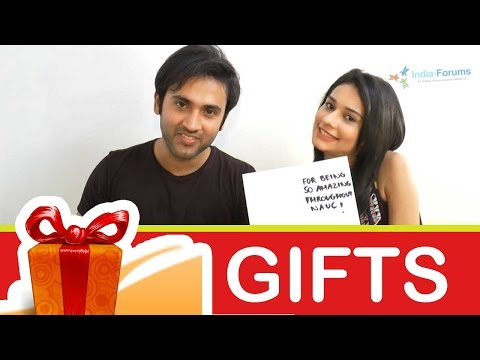 Aneri Vajani and Mishkat Varma Lovey Dovey Pictures from YouTube · Duration:  41 seconds