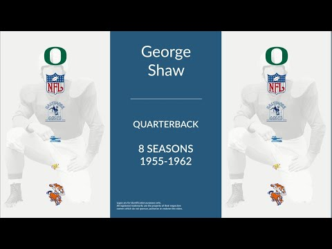 George Shaw: Football Quarterback