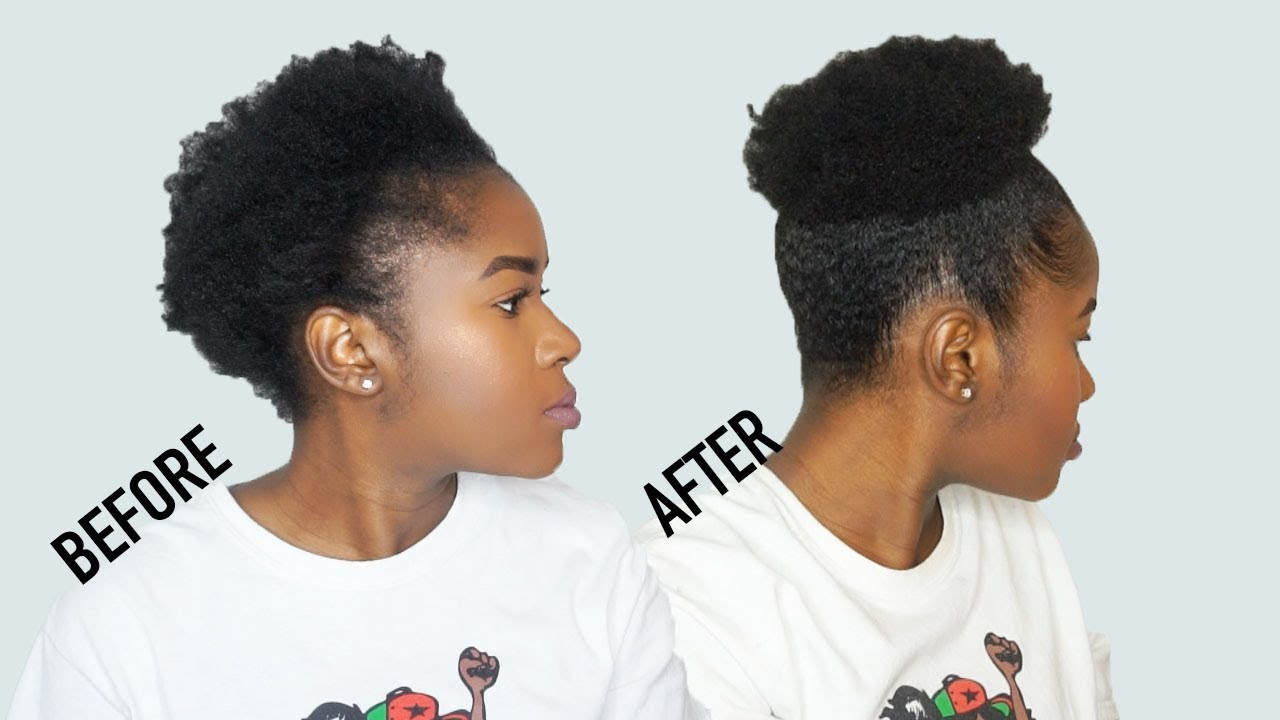 Talk Through The Best Method To Do A High Puff On Short