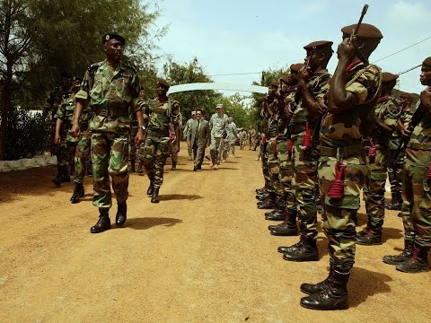 Gambia crisis: Senegal sends troops
