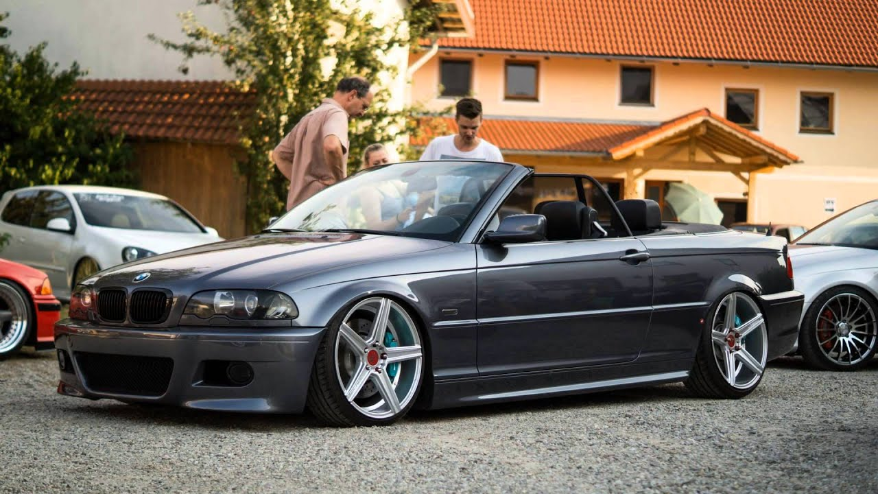 K Side Cabrio Bmw E46 With Bbs Mb Design Kv1 Low