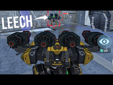 War Robots - How Strong Is The Behemoth With 4x Zeus Weapons?   WR MK2 Gameplay