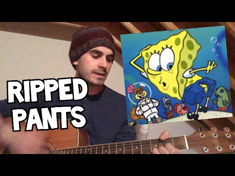 Spongebob - THE FOOL WHO RIPPED HIS PANTS (COVER) - YouTube