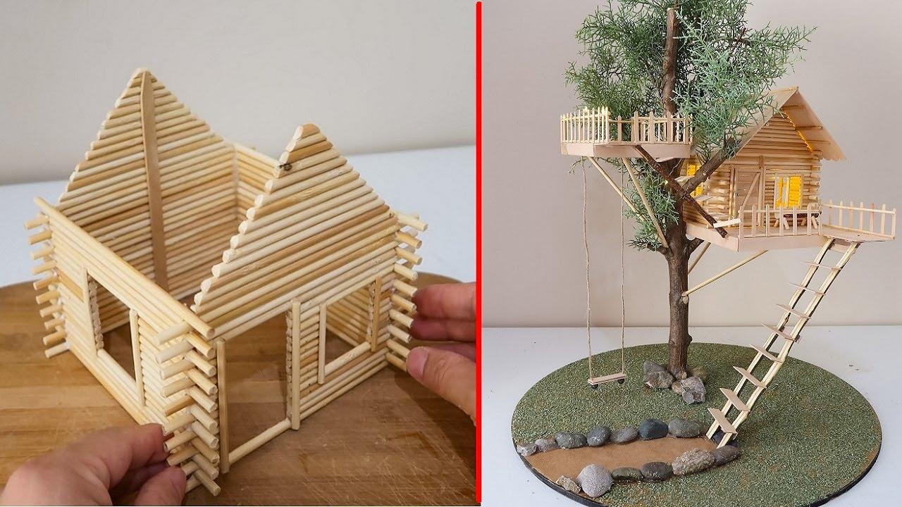 ☑️ İlkel Teknoloji #3 Ağaç Ev Yapımı 1