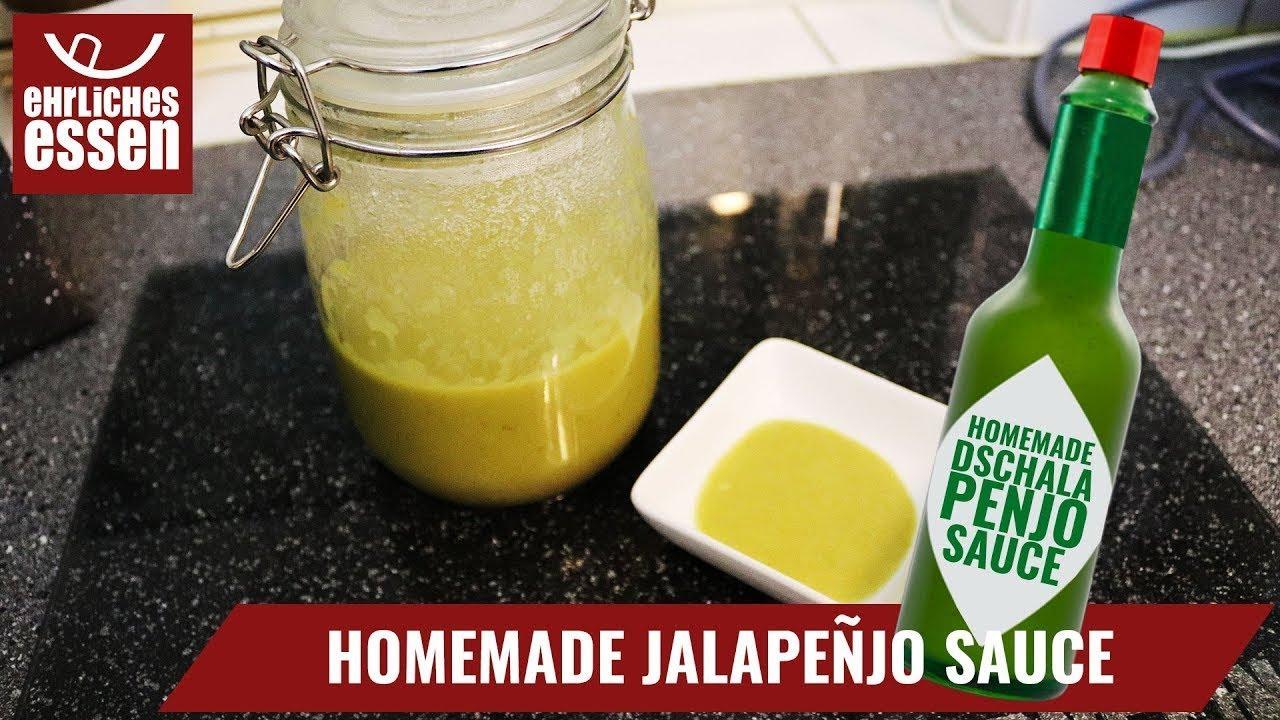 jalapeno sauce homemade tabasco style sauce das rezept. Black Bedroom Furniture Sets. Home Design Ideas
