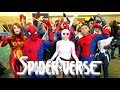 Spider-Man: SPIDER-VERSE Flash Mob Takes Over COMIC CON! - MELF