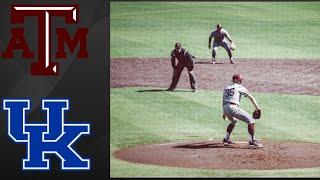 Texas A&M Aggies vs Kentucky Wildcats | College Baseball Highlights