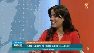 Entrevista Noelia Barbeito | Freno judicial al protocolo de Bullrich