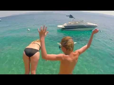 Travel video from Omis, Croatia
