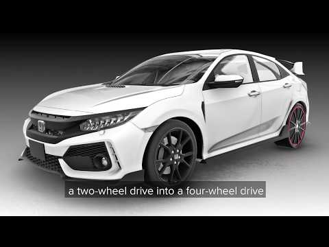 Honda Type R with The New OrbisDriven Wheels; Now An All-Wheel Drive Car