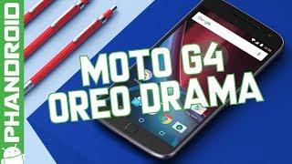Motorola flip-flops on the Moto G4 Oreo update
