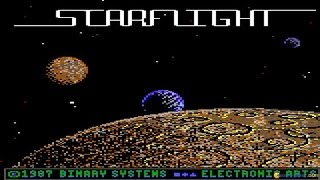 Starflight gameplay (PC Game, 1986)