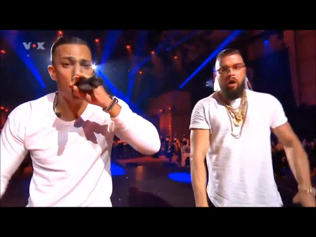 KOLLEGAH & FARID BANG ECHO AUFTRITT | All Eyez On Us