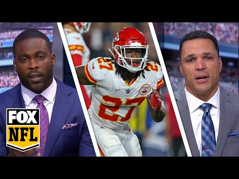 Tony Gonzalez and Michael Vick give their thoughts on the Kareem Hunt situation | FOX NFL