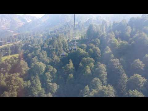 Sochi, Russia Cable Car ride