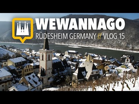 Exploring Rüdesheim on the Rhein River in Germany // Round the World Travel // WeWannaGo TV