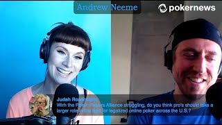 LIVE PokerNews Podcast with Andrew Neeme