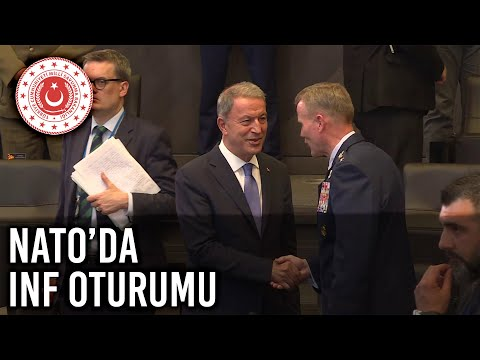 Bakan Akar NATO'da INF Oturumu'na Katıldı