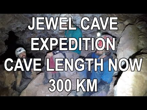 World's Third Longest Cave Now 300 Kilometers