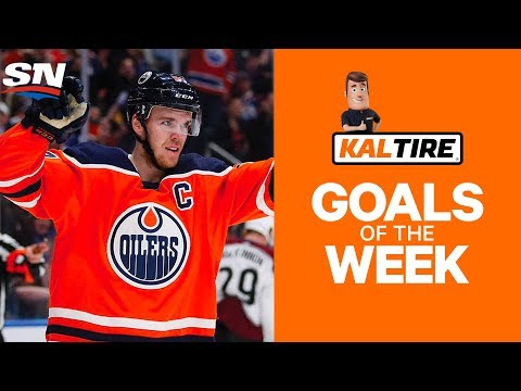 NHL Goals of The Week: Week 9 Edition - McDavid Blazes Past Golden Knights