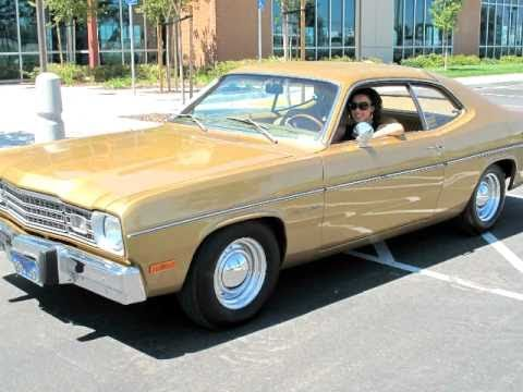 1973 Plymouth Gold Duster - YouTube