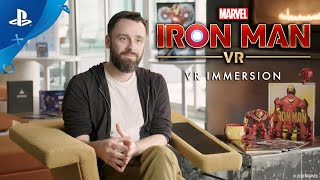 Marvel's Iron Man VR – VR Immersion (Behind the Scenes) | PS VR