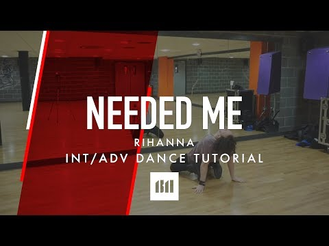 NEEDED ME - Rihanna Dance TUTORIAL Video | @BrendonHansford Choreography