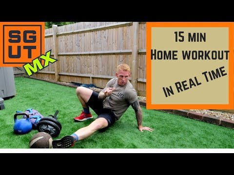 15 minute Home workout in real...
