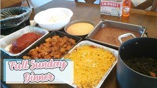 FULL SUNDAY DINNER FROM START TO FINISH|| Raising The Lee's Recipes