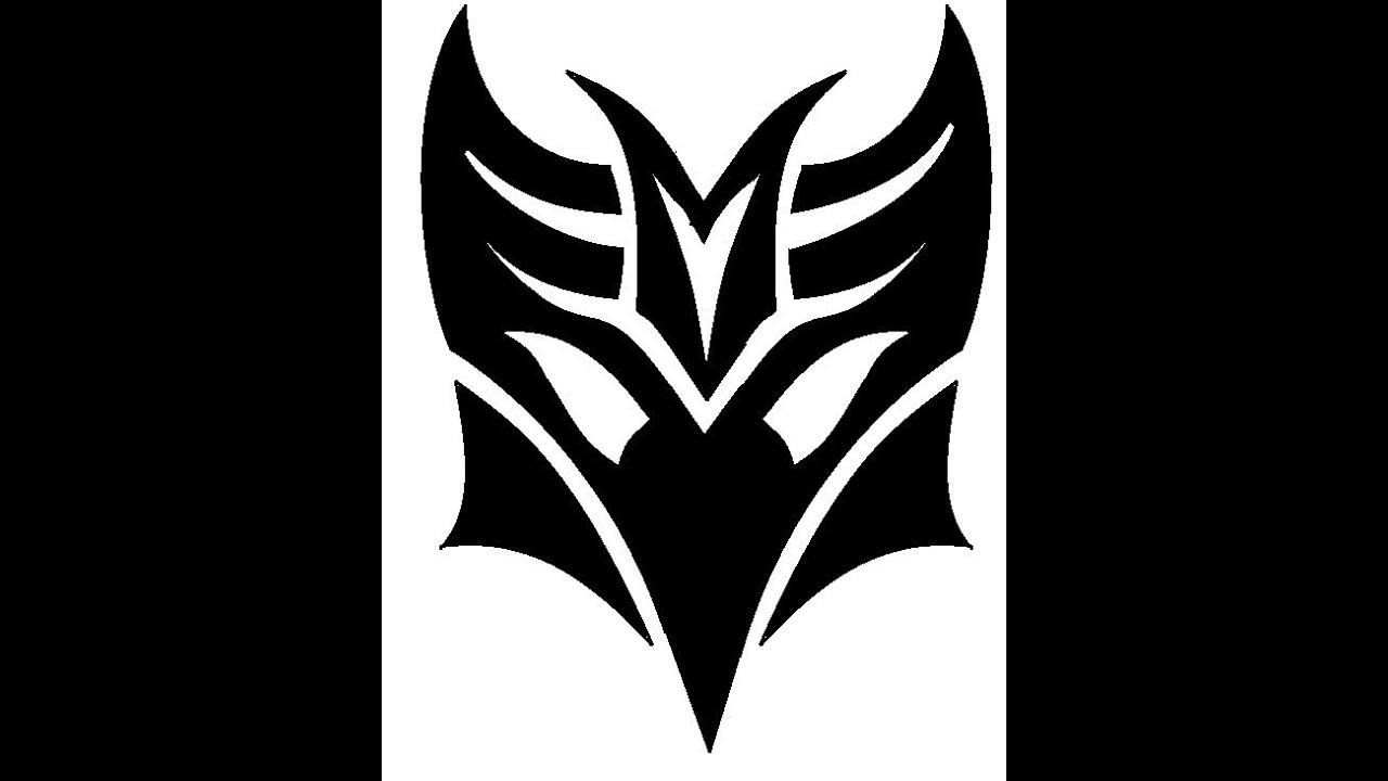 decepticon logo stencil