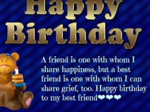 Best Birthday Wishes For Friends Happy Greetings