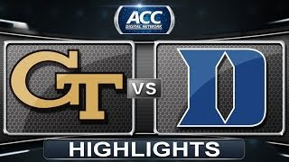 Georgia Tech vs Duke | 2014 ACC Women