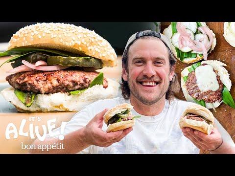 Brad Makes Burgers | It's Alive | Bon Appétit