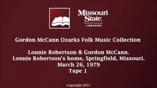 McCann: Robertson & McCann, March 26, 1979