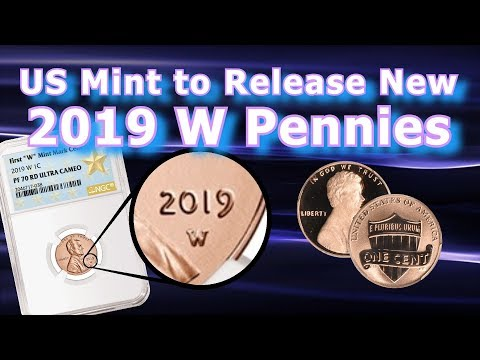 2019 W Lincoln Penny Details Revealed By US Mint