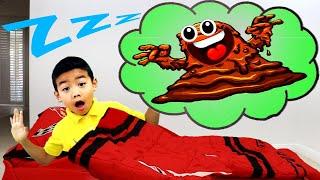 Eric Pretend Play Monster in the Dark | Kids Having Bad Dream Bedtime Story