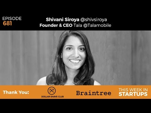 E681: Tala founder Shivani Siroya on transforming microfinance & loans in emerging markets