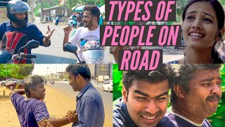 Types of People on Indian Roads | Crossing road | Car Drivers