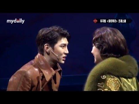 160329 VIXX LEO 'Mata Hari Press Call' (fight scene and kiss scene)