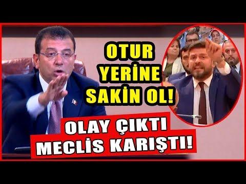 İmamoğlu Ak Partili Meclis Üyesine Öyle Bir Cevap Verdi Ki Tartışma Çıktı!
