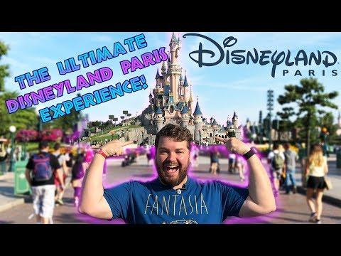 First Time In Disneyland Paris